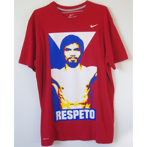 Nike Shirts Rare Manny Pacquiao Graphic Tee Poshmark
